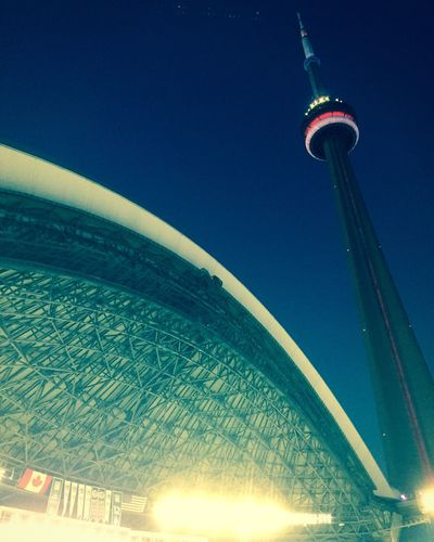 our moment... Toronto Blue Jays Skydome CN Tower The 6ix Toronto City Lights