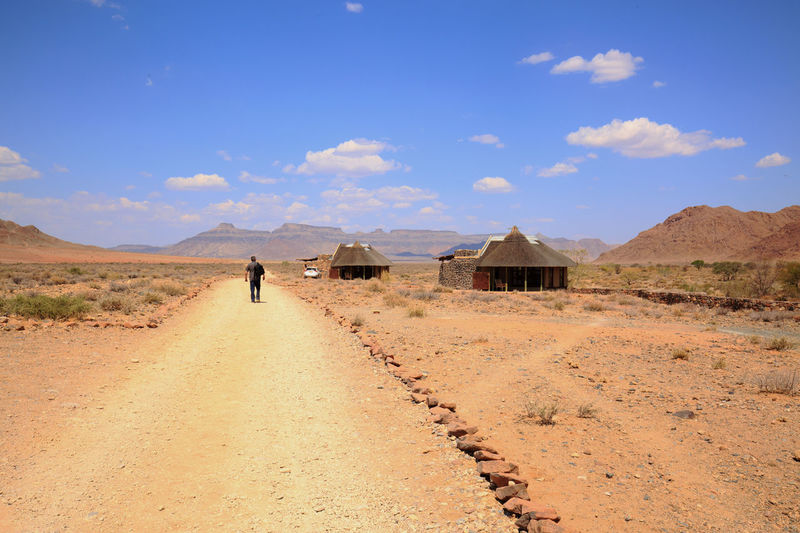 Africa Feel The Journey Holiday Journey Landscape Mountain Namibia Landscape Nature Remote Location Scenics The Way Forward Tourism Tranquility Travel Photography Unrecognizable Person Walking Alone...