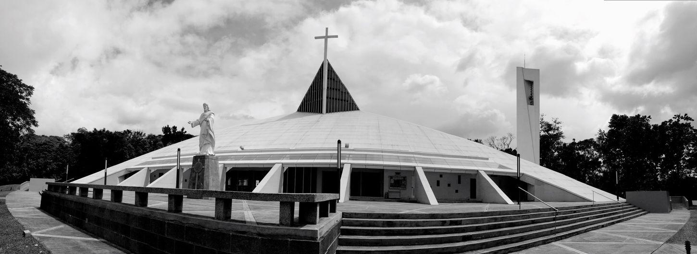 Church Place Of Worship Tranquility Eyeem Philippines Architecture Blackandwhite Panoramic
