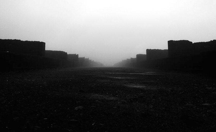 No People Silhouette Outdoors War Fog Landscape Rural Scene Architecture Nature Sky Day Personal Perspective High Angle View Defocused First Eyeem Photo EyeEm Best Edits Mountain EyeEm Best Shots Black Background Rock - Object Fortified Wall Raigadfort🚩 Raigad Fort Leisure Activity Nature