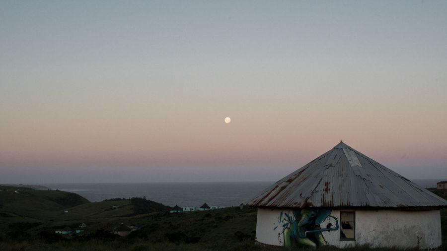 Moonrise over