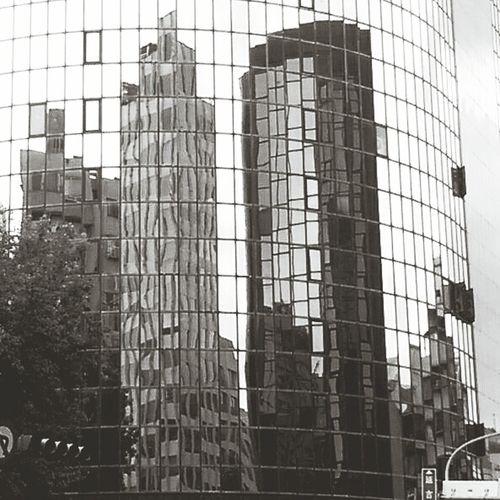 Reflection Distortion Architecture Windows