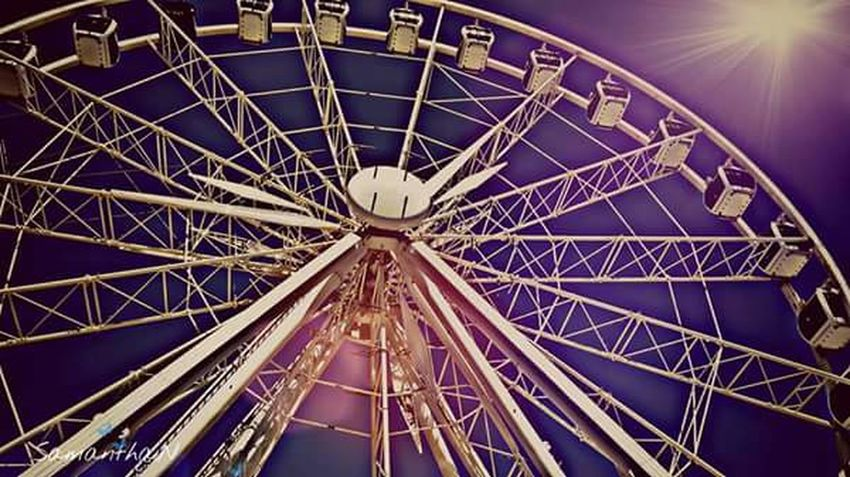 Faris Wheel Purplelicious Tourist Attraction  Tourist Destination Waterfront Manmade