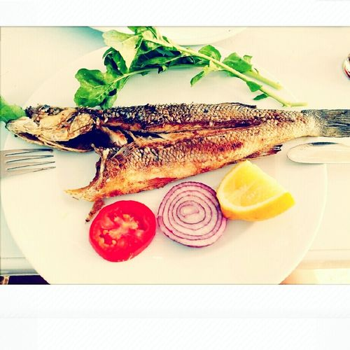 What's For Dinner? Fish Allnatural HealtyFood Foodphotography Food Delicious Enjoying A Meal Meal Yummy