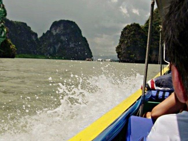 Long Boat on Andaman Sea. Long Boats Andaman Sea Ocean View Island Life Andamanislands Shot By IPhone6s Plus