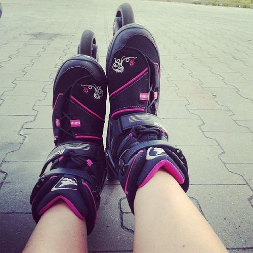 Moje Kochane Roleczki Goodtime Rollerblade Skate Love Poland Polishgirl :)