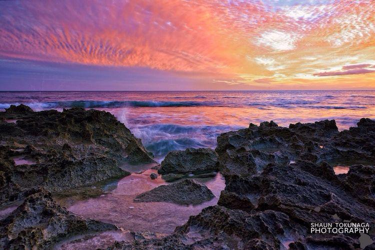 Polychromatic Symphony Sunset Landscape Clouds And Sky EyeEm Best Shots