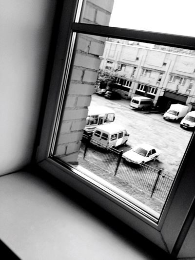 Views From Windows Blackandwhite Black And White