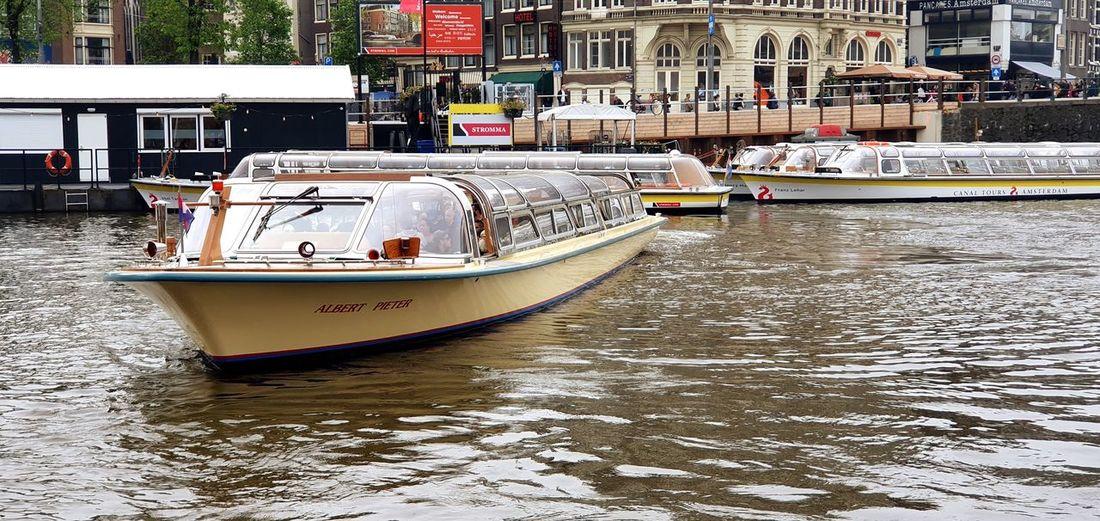 Canal cruise.