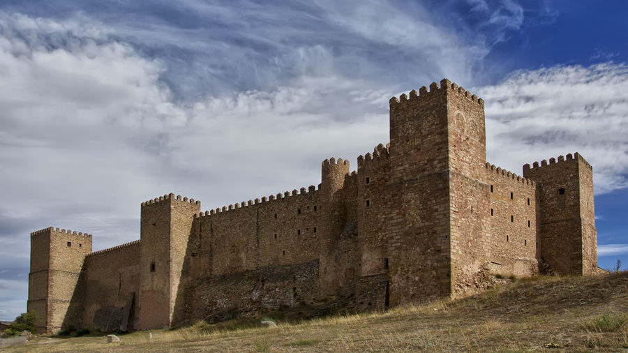 Architecture Castillo Castillo De Siguenza Castle History Medieval Sigüenza