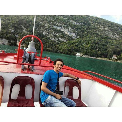 انسي فرنسا سفر Switzerland annecy me boat_trip boat