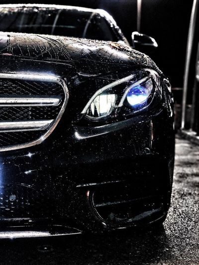 Photoshoot madness🤪 Portraitmode IPhoneX W213 E350d VSCO AdobeLightroom AMGandME AMG Close-up Car No People Motor Vehicle Indoors  Transportation Mode Of Transportation Land Vehicle Creativity Reflection Nature Wet Drop Backgrounds