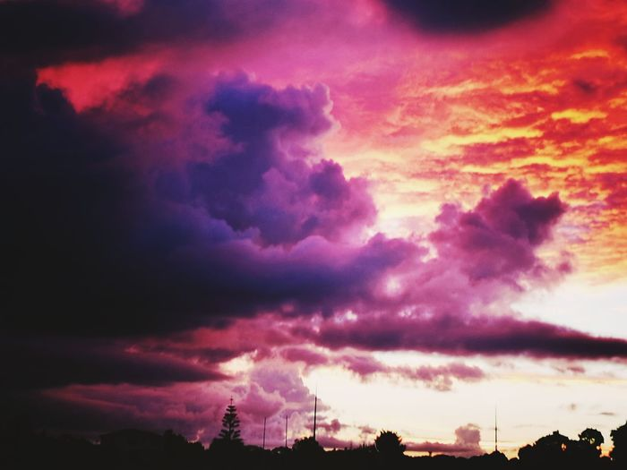 Beauty In Nature Thunderstorm NZ :) the beauty before the storm