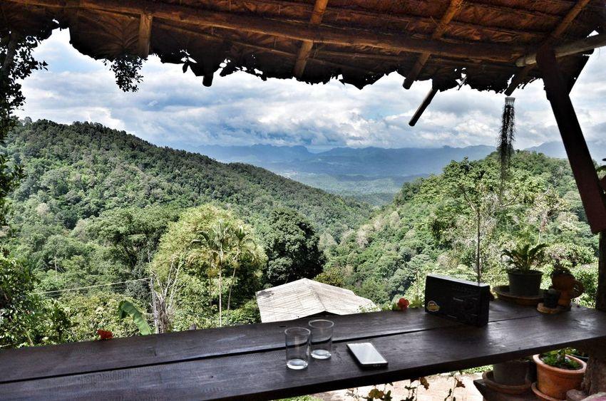 MaeTang Chiangmai Thailand Tree Mountain Water Sky Landscape Mountain Range Plant