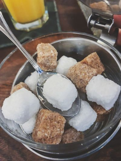 Cube sugar from