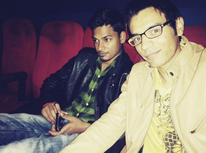 Movienight ....Watching Loveshuda with Abhi First Eyeem Photo