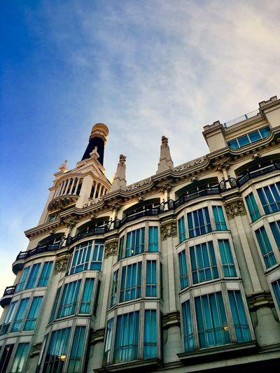 Architecture Building Exterior Built Structure Madrid Madrid Spain Plaza Santa Ana Madrid Hotel