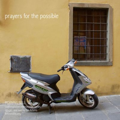 No2 in series 'in our prayers (contemplative intercession)' Stillness Prayer Contemplation Cortona Shrine Scooter Motorcycles Motorcycle Motorbike Possibilities