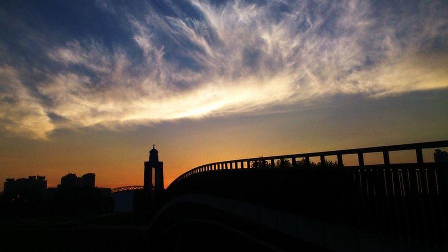Sunset Minsk Clouds Landscape Summer EyeEm Best Shots Eye4photography  PhonePhotography Phone Popular Photo