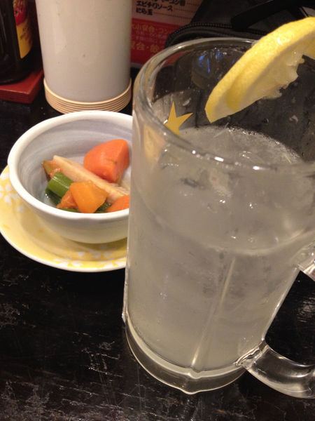 A Taste Of Life Beer Mug Delicious Drink Drinking Eat Food Food And Drink Foodie Freshness Glass Healthy Eating Indoors  Indoors  Izakaya Japanese Culture Japanese Style Lemon Sour Onthetable Otoshi Ready-to-eat Restaurant Shochu Still Life Yummy
