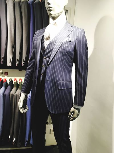 Mannequin Store Fashion Retail  Clothing Store Retail Display Clothing Boutique Textile Industry Department Store Menswear Consumerism Business Indoors  Standing Real People Well-dressed Coathanger Day