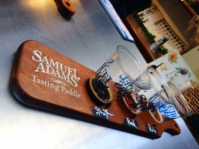 Boston love 🍻 Sam Adams Boston Tour Beer Tasting