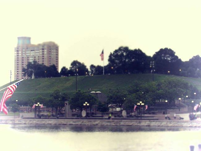 An image I captured of Federal Hill. Beginning photography stage.