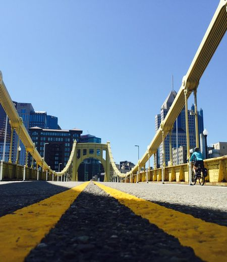 Streetphotography Bridge Running Urban Geometry