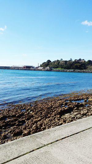 Beach Sea Sunny Clear Sky Water Tranquility Scenics Weymouth Dorset Day