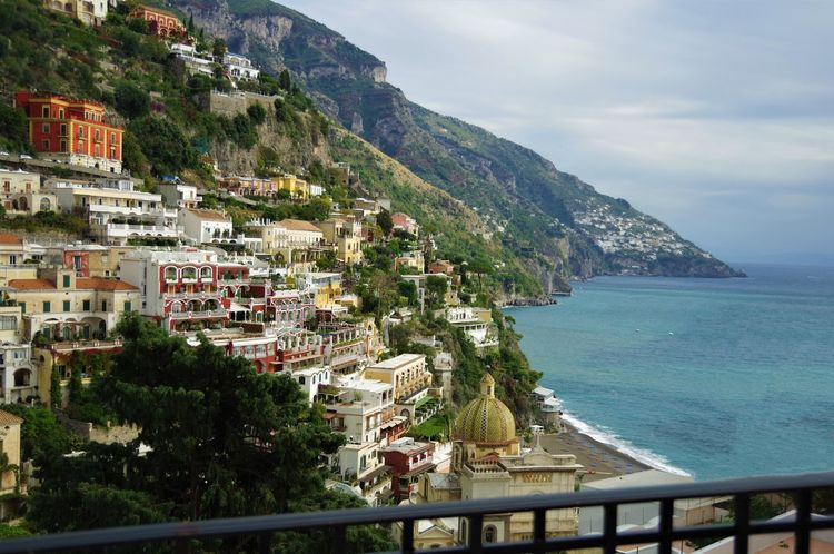 Holiday Holidays Landscape Photography Landscape_Collection Positano, Italy Rock Travel Travel Photography Traveling Travelling Architecture Italy Landscape Landscape_photography No People Positano Positanocoast Scenics Sea Sea And Sky Sea View Sky Travel Destinations Traveller Travelphotography
