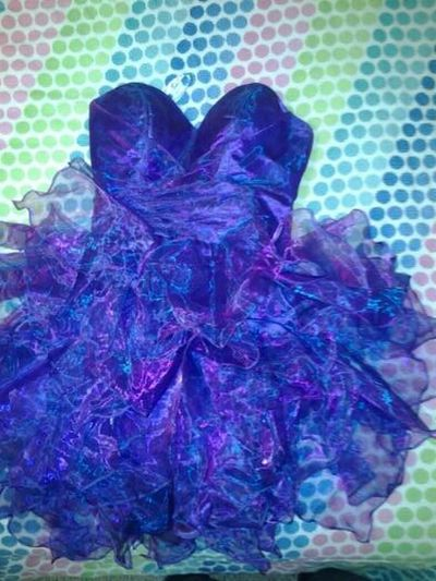 Prom dress for sale size 8, one time wear. $150 or better