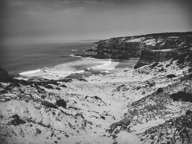 Black & White Landscape_Collection Nature Nature Photography Portugal Tranquility Travel Travel Photography Traveling Beauty In Nature Black And White Blackandwhite Blackandwhite Photography Bnw Cavaleiro Cliff Landscape Landscape_photography Nature_collection Outdoors Photography Scenics Scenics - Nature Tranquil Scene Travel Destinations