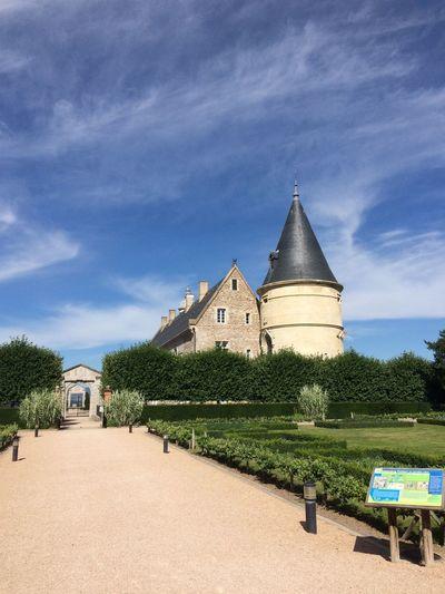 Architecture Built Structure Sky Cloud - Sky Outdoors Travel Destinations Château Castle Photography EyeEm Best Shots Clear Sky Taking Photos AuvergneRhoneAlpes