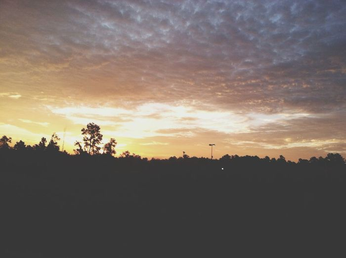 This makes going to school a lot better? Beautiful Sky Sunrise... First Eyeem Photo