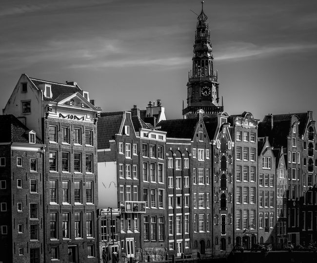Amsterdam Remo SCarfo Holland Dutch EyeEm Best Shots Architecture Building Exterior Built Structure Building Sky City Tower Travel Destinations Residential District Nature Day No People Tall - High Outdoors Tourism Place Of Worship Religion Travel Cityscape Spire  Gothic Style Skyscraper