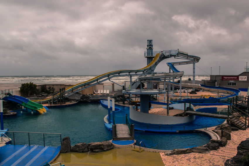 Deserted Scapes Swimming Swimming Pool Water Park