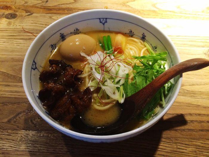 すがり ラーメン Noodles Japan Kyoto Food モツが入っています