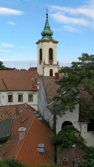 Architecture Building Exterior Built Structure Church Clock Tower No People Oldtown Ortodox Church Outdoors Roof Sky