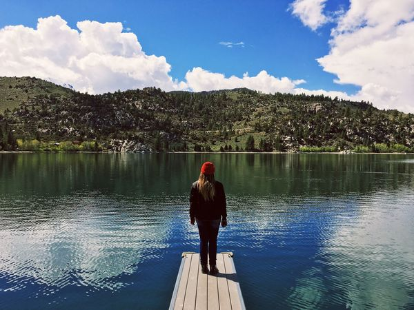 Original Experiences Feel The Journey Girl Power TheAdventuresOfAmanda Lake June Lake, CA California Girl Sun Colorful Sunny Day Outdoors Blue Green Beautiful Girl Beautiful Day Vacation Road Trip Adventure Club On The Way People And Places TakeoverContrast The Adventures Of Amanda Women Around The World The Great Outdoors - 2017 EyeEm Awards Neighborhood Map Let's Go. Together. Breathing Space The Week On EyeEm Lost In The Landscape