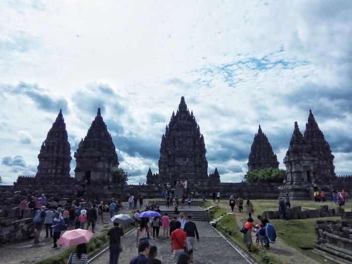 Prambanan Temple Exploreindonesia Explorejogja View Landscape Nature Sky Skyporn Clouds Cloudporn Travel Destinations Travel Religion Eye4photography  EyeEm Indonesia From My Point Of View EyeEm Best Shots EyeEm Gallery Taking Photos Enjoying The View INDONESIA Beautiful Wanderlust From Where I Stand Buildings & Sky