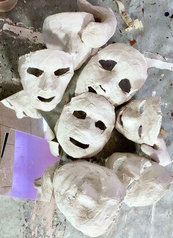 Plaster mask 648944
