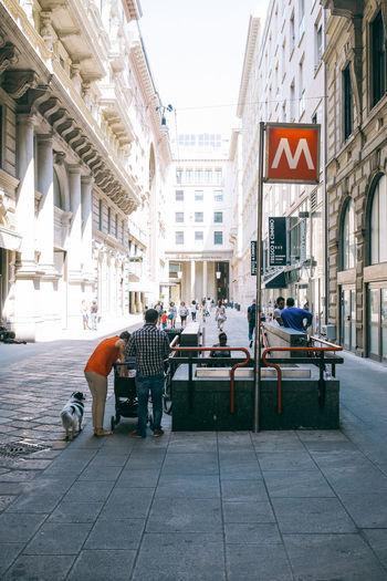 Duomo station Fuji X100s FUJIFILM X100S Milan Streetphoto Streetphoto_color Streetphotography Streetphotography Colors VSCO Vscofilm X100S