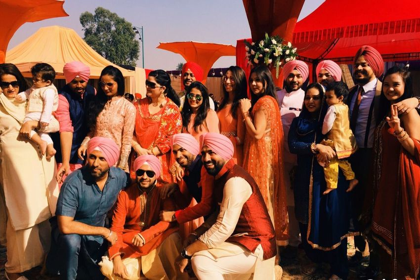 Weddings Around The World Colors Beauty Friends Punjabi Wedding