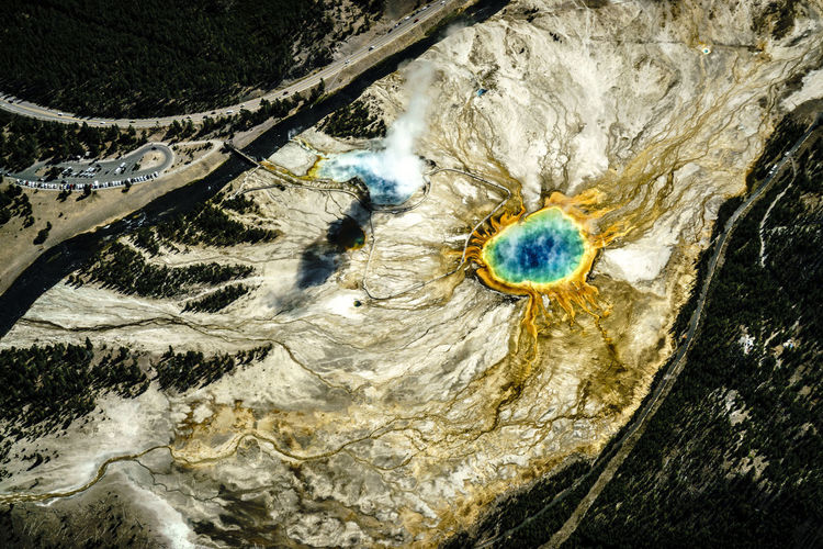 Colors EyeEm Best Shots EyeEm Nature Lover Freedom Grand Prismatic Spring National Park Nationalpark Nature Nature Photography Nature_collection Sky Sky And Clouds Sony Sonyalpha Fresh On Market 2016