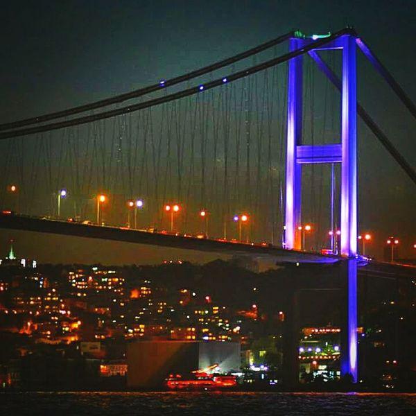 Bogazkoprusu Bosphorus Istanbul - Bosphorus Bosphorus Bridge Istanbul Night PhotoByMuratGul