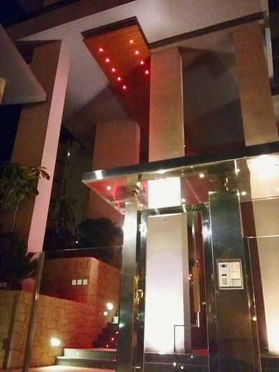 Bulding Illuminated Low Angle View Built Structure Ceiling Architecture Modern Architectural Feature