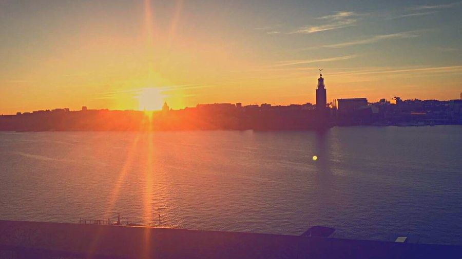 Stockholm Sunset Magneficent First Eyeem Photo