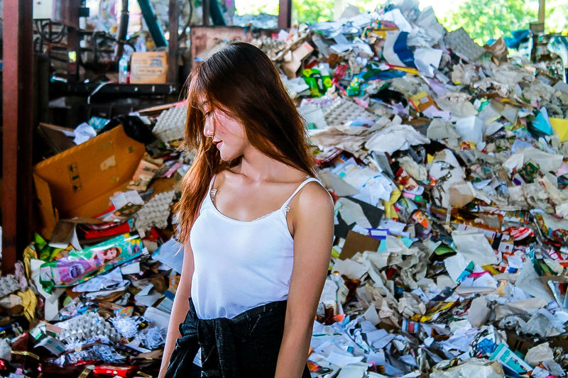 👀💥 Waste Management Stack Choice Garbage Business Finance And Industry Heap Fashion Choosing Chaos Messy