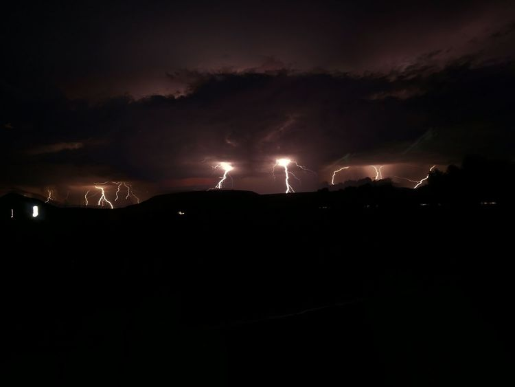 winter storm in the Karoo Night Storm Cloud - Sky Sky Lightning Thunderstorm Power In Nature Dark Landscape
