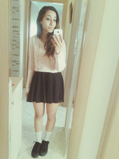 todays outfit Hi! First Eyeem Photo